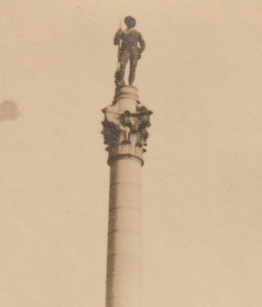 Soldiers and Sailors Monument Libby Hill Richmond Virginia Photo Close Up 2