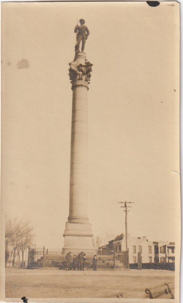 Soldiers and Sailors Monument Libby Hill Richmond Virginia Photo