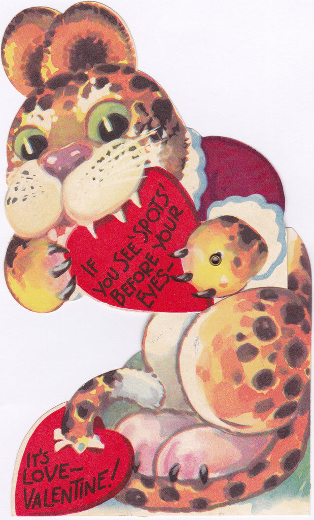 If You See Spots Before Your Eyes- Valentine, c. 1950s