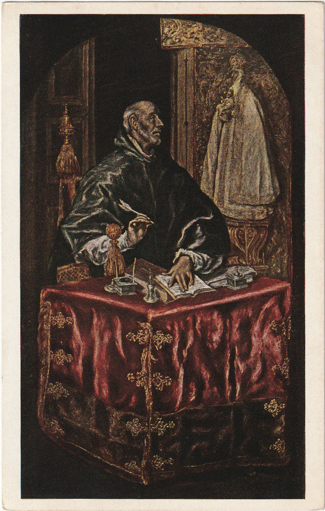 St. Ildefonso El Greco National Gallery of Art Postcard