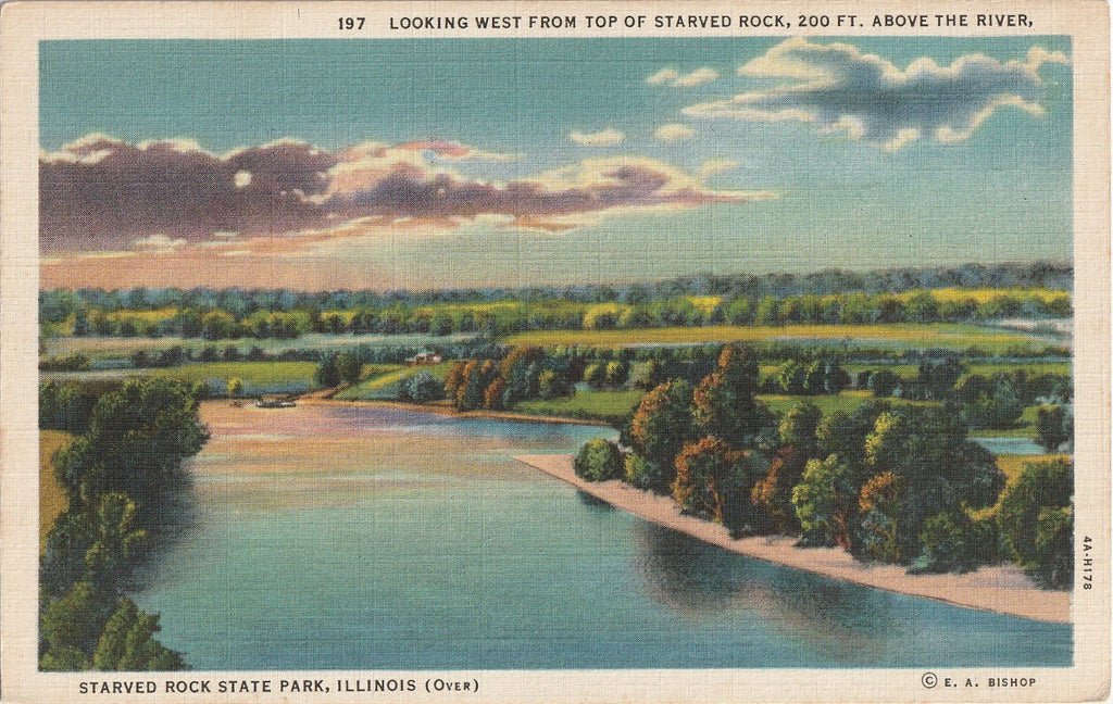 Starved Rock State Park Illinois Postcard