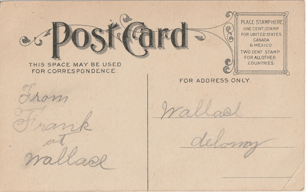 Take Your Pick - Postcard, c. 1900s