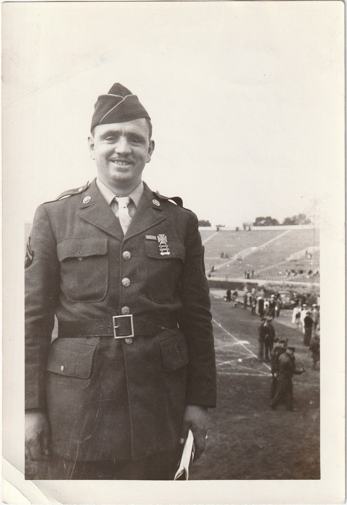 Taken at the Rose Bowl in Pasadena California Jan. 1, 1944 Photo