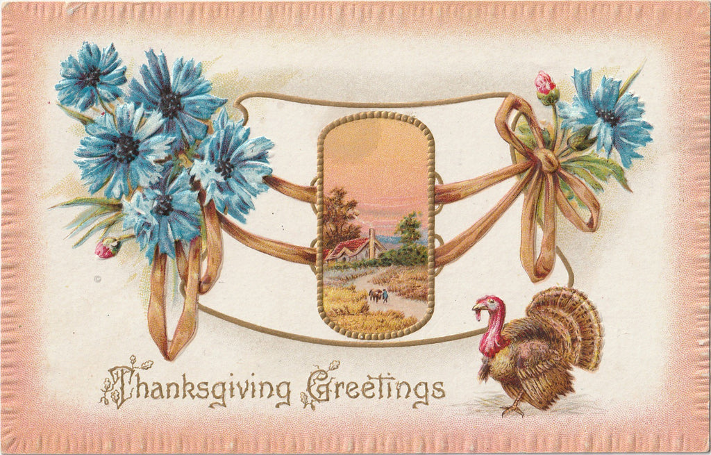 Thanksgiving Greetings - Postcard, c. 1910s