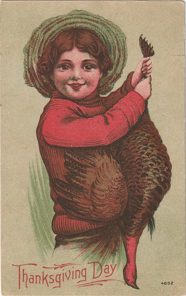 Thanksgiving Day Turkey - Postcard, c. 1900s