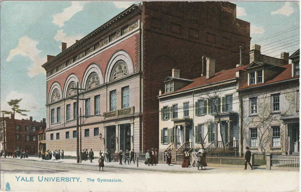 The Gymnasium, Yale University - New Haven, Connecticut - Postcard, c. 1900s