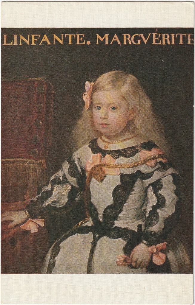The Infant Marguerite Diego Rodriguez de Silva y Velasquez Postcard