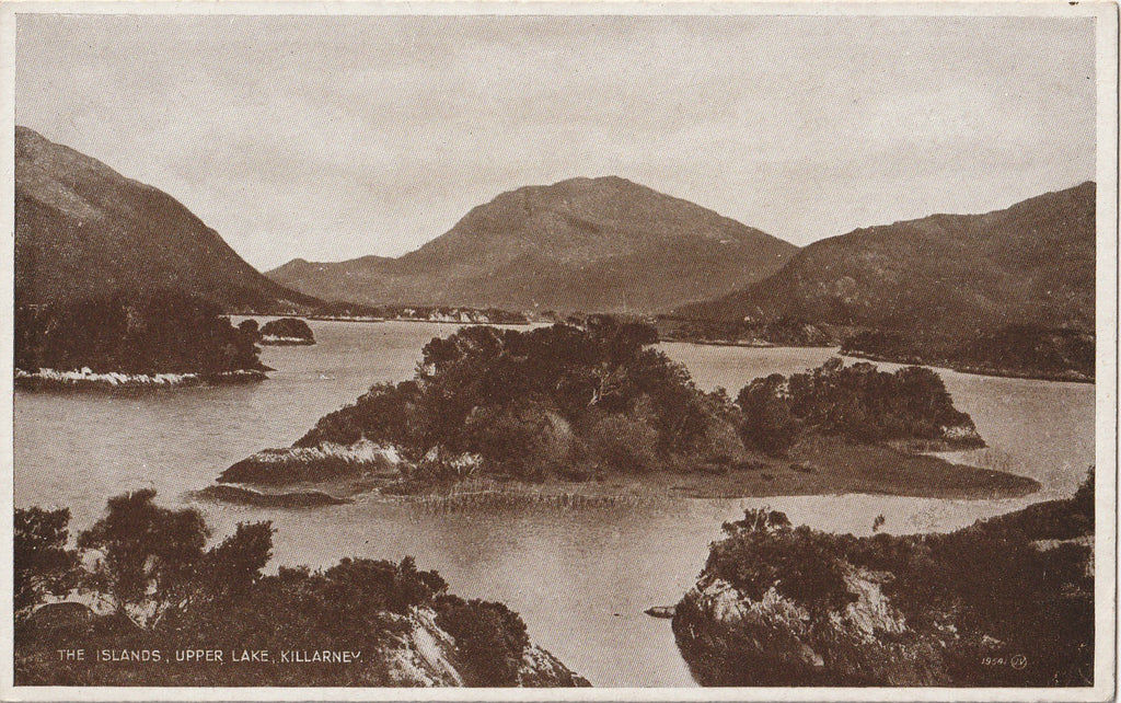 The Islands, Upper Lake, Killarney, Ireland - Postcard, c. 1900s