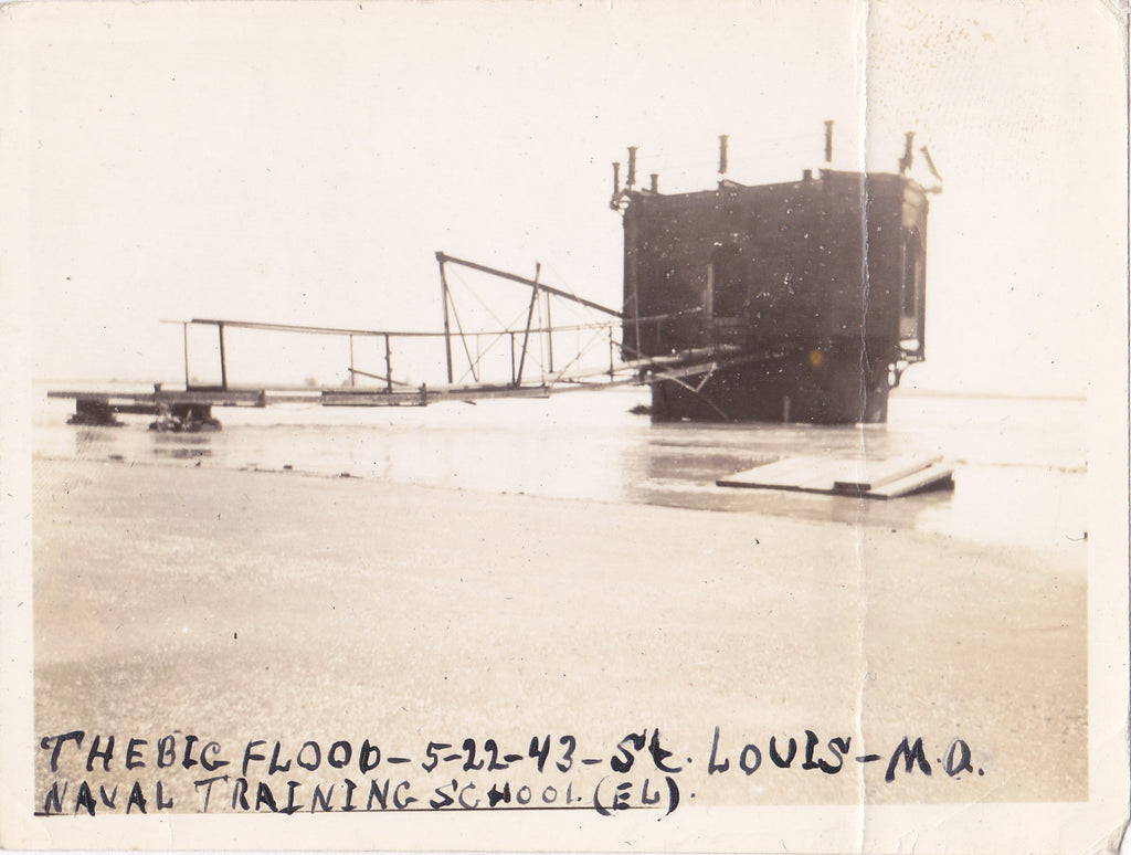 1943 Flood St. Louis Naval Training School