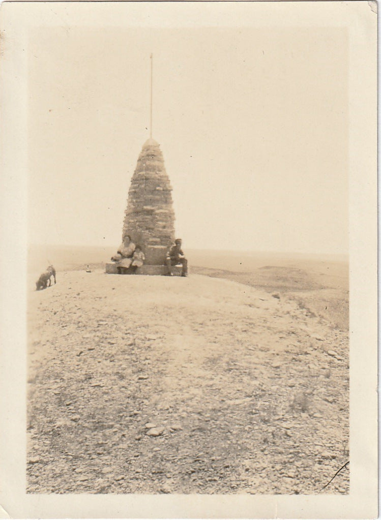 The Silent Guide Stoneman Hill Vintage Photo