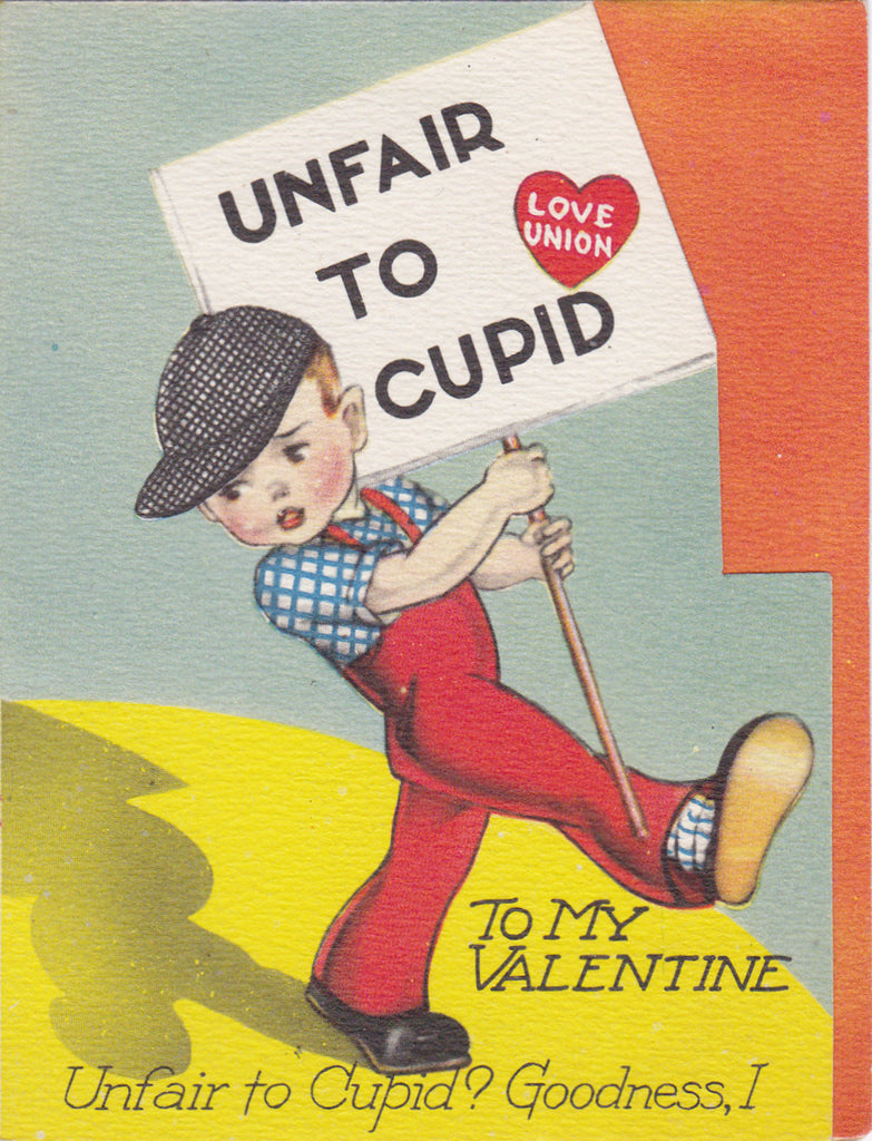 Unfair To Cupid - Love Union - Valentine, c. 1940s
