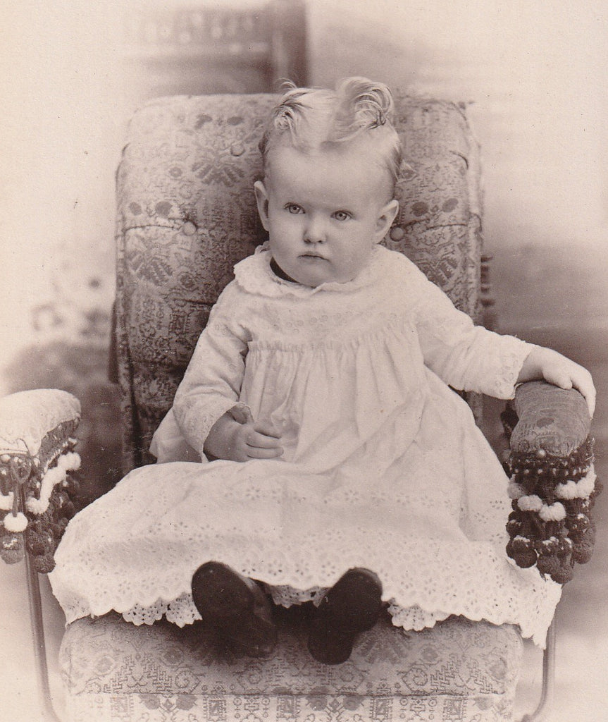 Victorian Darling Julesburg CO Cabinet Photo Close Up 2