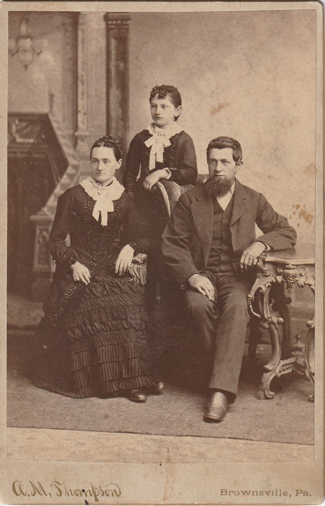 Victorian Half Mourning Cabinet Photo