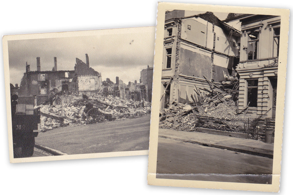 Wartorn Europe WW2 Photo Set