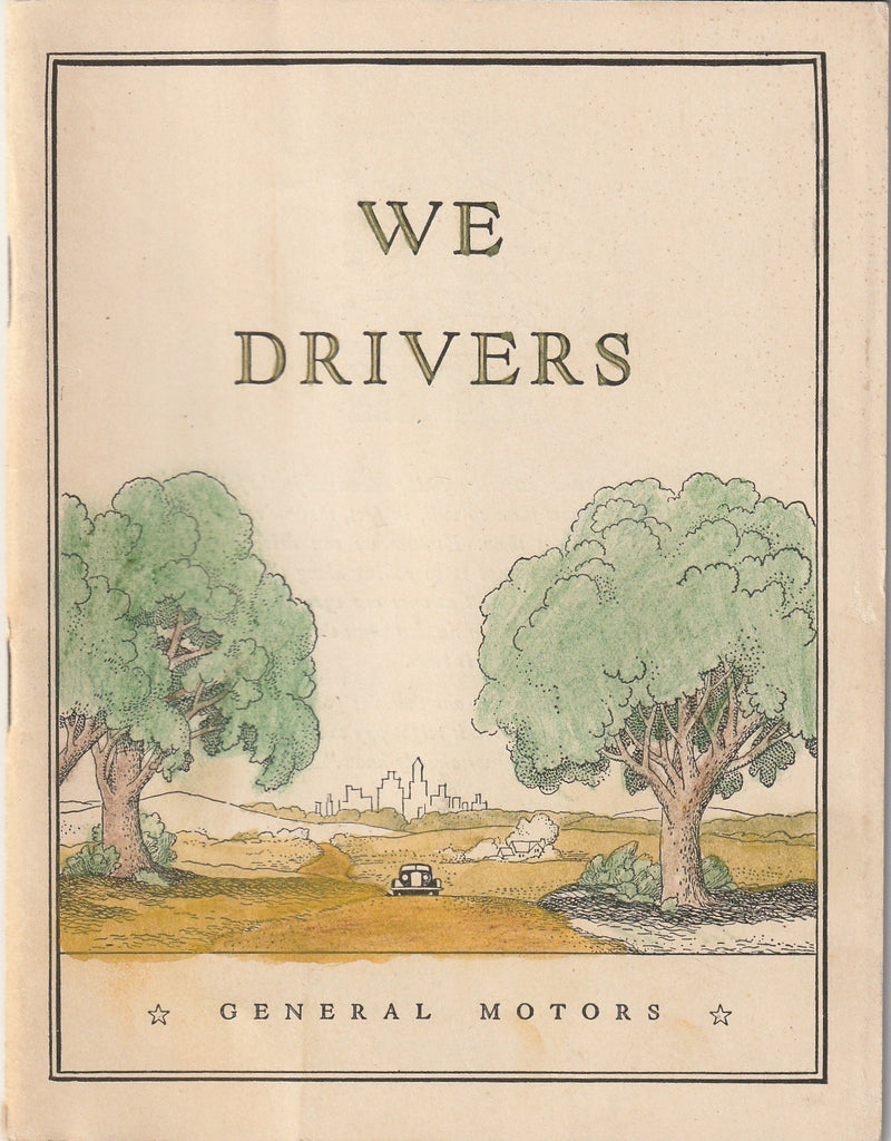 We Drivers General Motors Booklet 1938