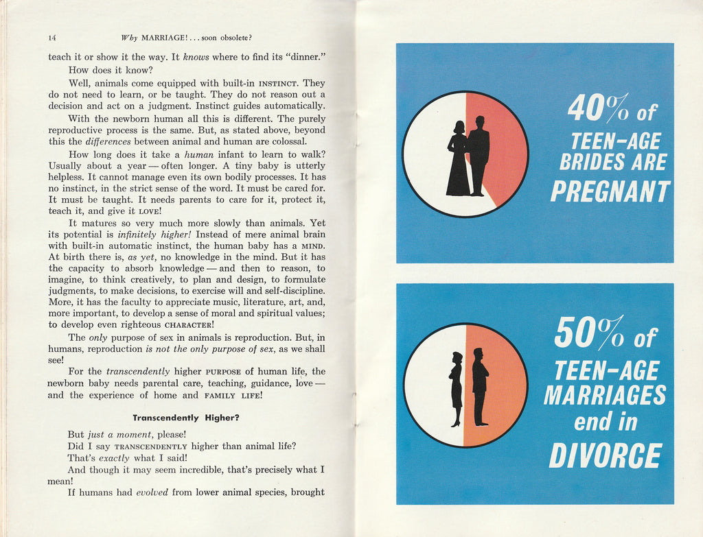 Why Marriage, Soon Obsolete? - Herbert W. Armstrong - Booklet, c. 1968 Inside 3