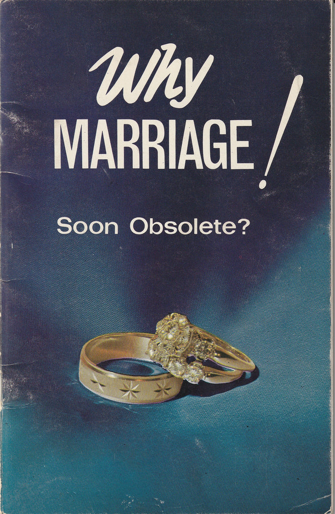 Why Marriage, Soon Obsolete? - Herbert W. Armstrong - Booklet, c. 1968