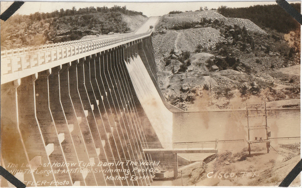 Williamson Dam Cisco Texas RPPC