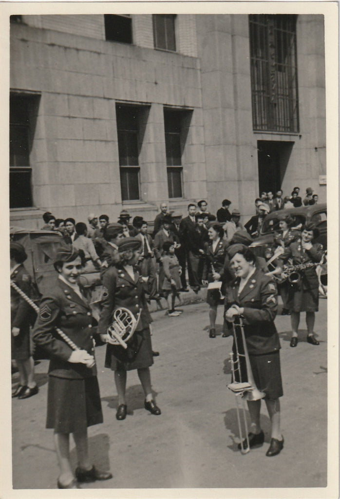 Women's Army Corps Parade WW2 WAC Vintage Photo 3 of 3