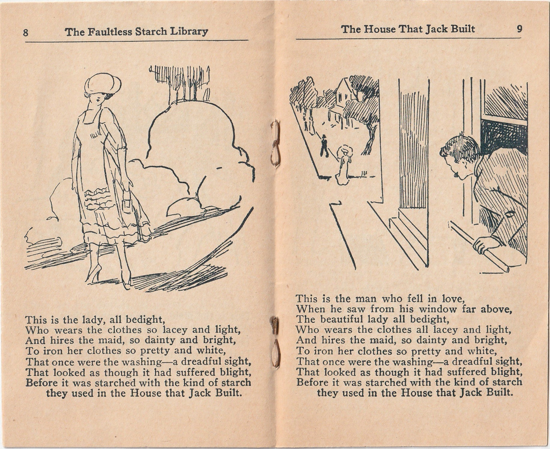 The House That Jack Built - Faultless Starch Booklet Vol  20