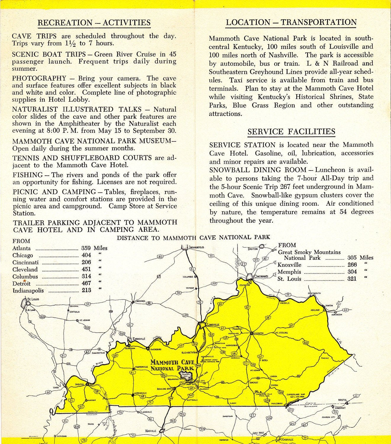 Mammoth Cave- 1950s Vintage Pamphlet- National Park- Kentucky Map- on i 65 kentucky map, mammoth trail map, smiths grove ky map, wind cave national park map, loretto ky map, kentucky caves map, mammoth az map, indiana caves map, adolphus ky map, mammoth on a map, ledbetter ky map, mannsville ky map, cave city map, mammoth campground, streets of covington ky map, mayking ky map, cave run lake ky map, blank ky map, mcveigh ky map, rowan county ky map,