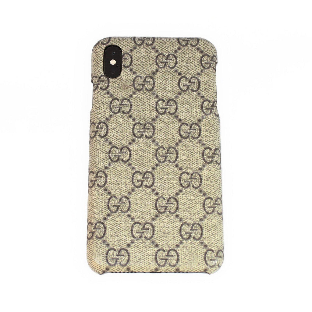 6f2a1fb21c8e4c Custom Gucci GG Supreme Canvas iPhone Case