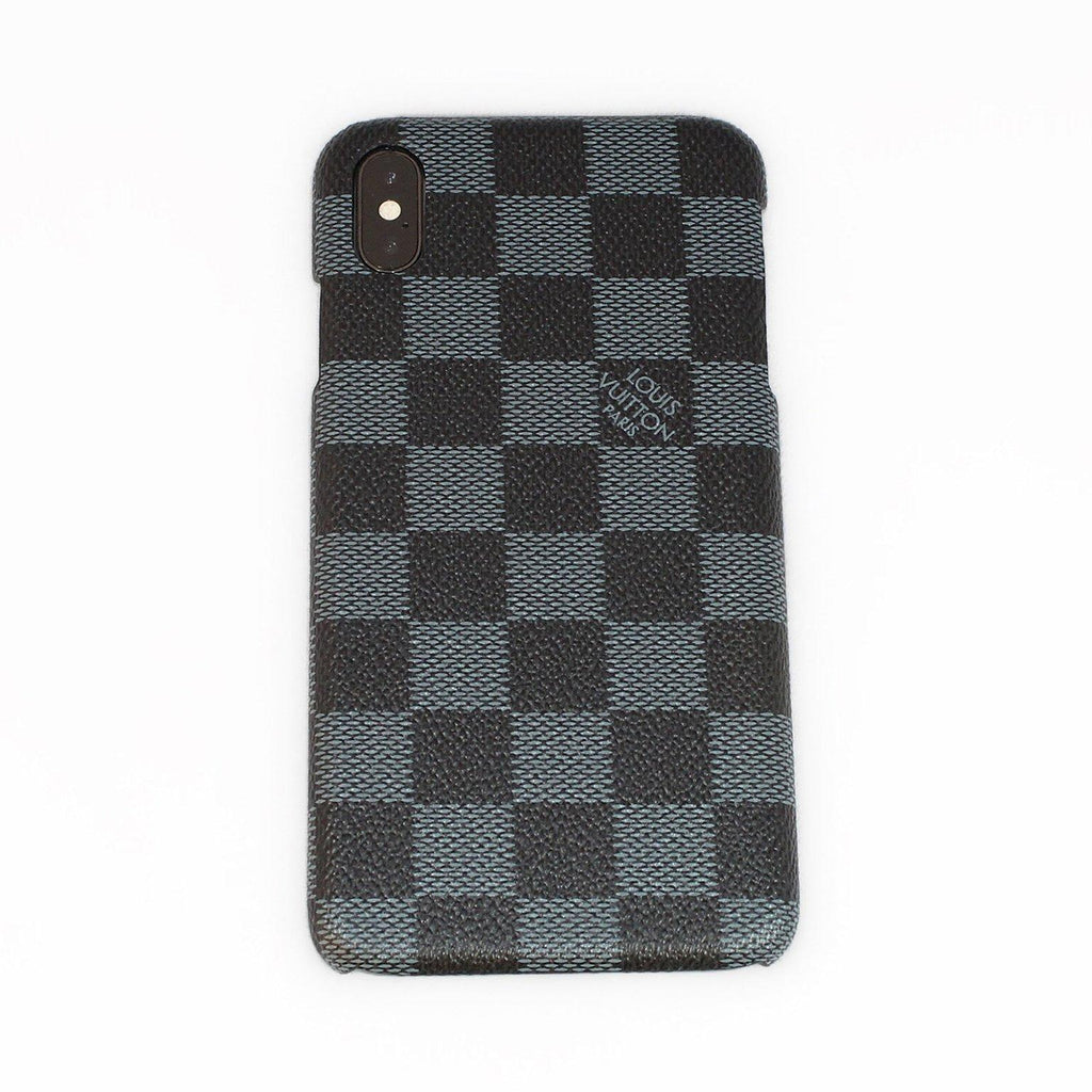 b0eb21d9bf8b18 Custom Louis Vuitton Damier Graphite iPhone Case