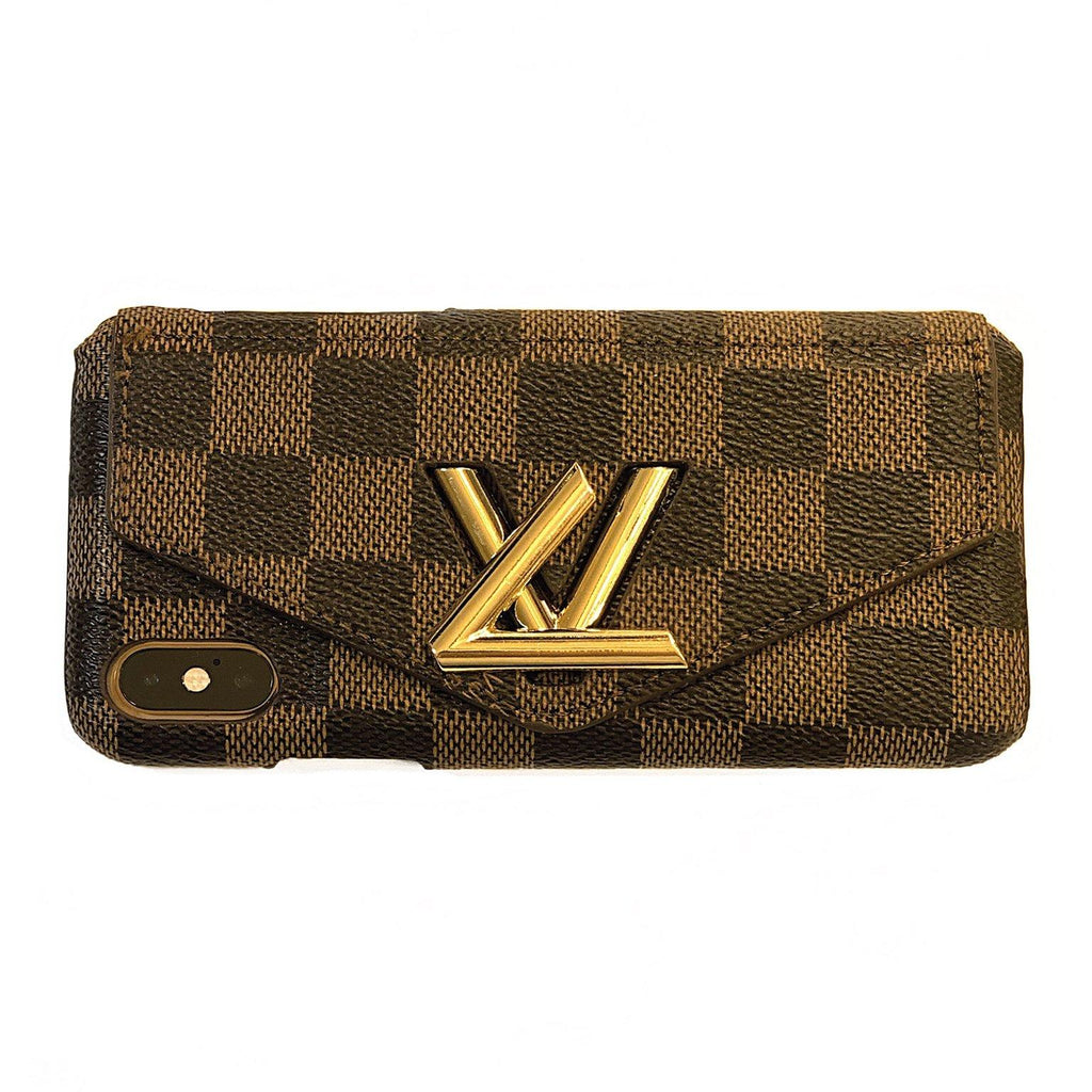 4126e5c03121bd Custom Louis Vuitton Twist-Lock Wallet Case