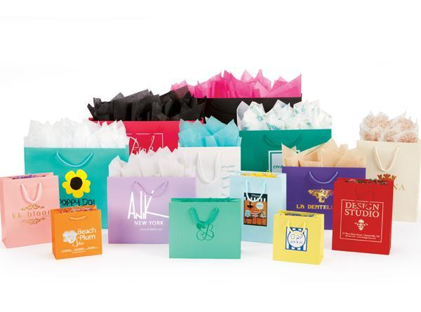 Matte Laminated European Shopping Bags