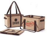 Non-Woven Collapsible Basket Tote