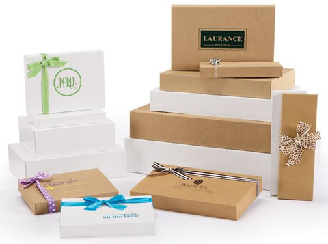 Pop Up Apparel Boxes -ECO WHITE
