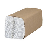 White C-Fold Paper Towels (2400 Pieces)