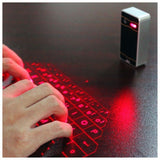 Wireless Bluetooth Laser Projecting Keyboard