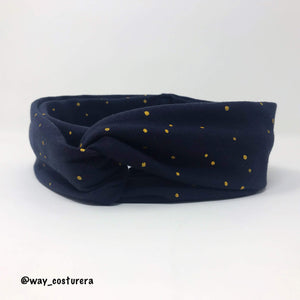 HeadBand Dots Dorados