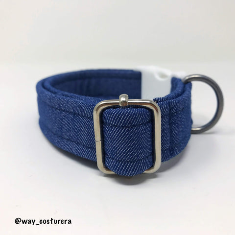 Collar Denim Azul