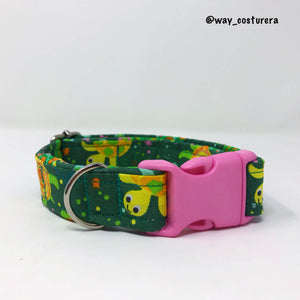 Collar Tortugas Green M
