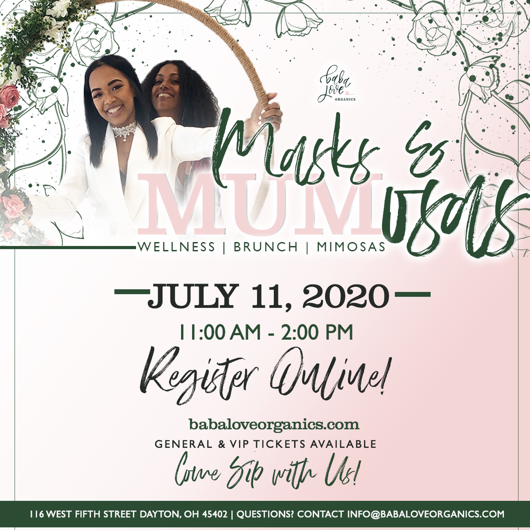 Masks & MUMosas Brunch 2020