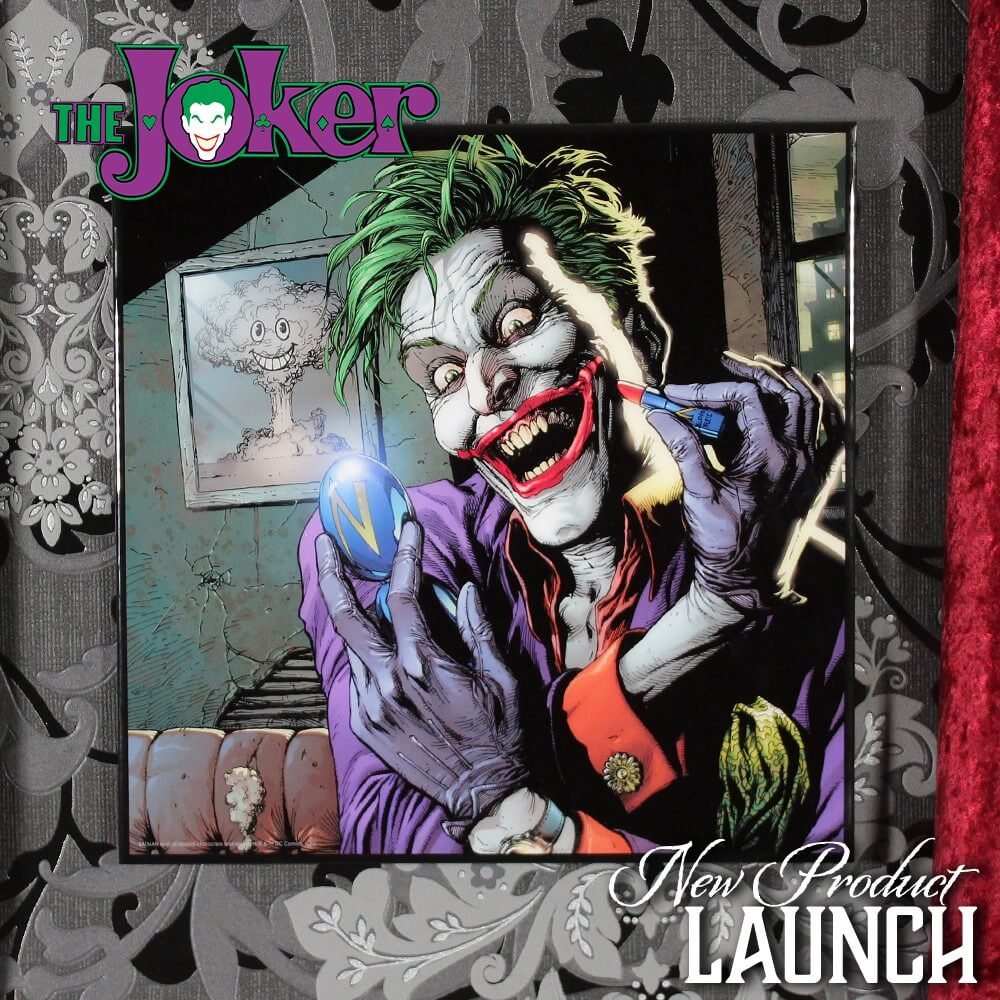 Batman - The Joker Doomsday Clock Crystal Clear Picture