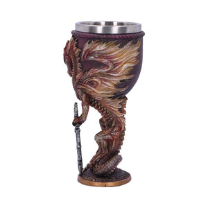 NEMESIS NOW - Flame Blade Goblet by Ruth Thompson (4576627523662)