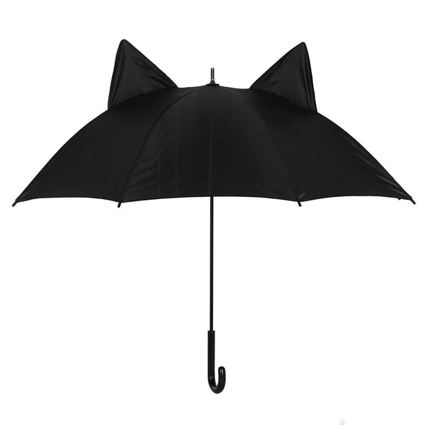 SOMETHING DIFFERENT - Black Cat Umbrella (4585311895630)