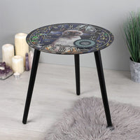 SOMETHING DIFFERENT - Hocus Pocus Glass Spirit Board Table