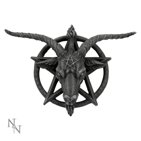 NEMESIS NOW - Baphomet Wall Plaque (4590418985038)