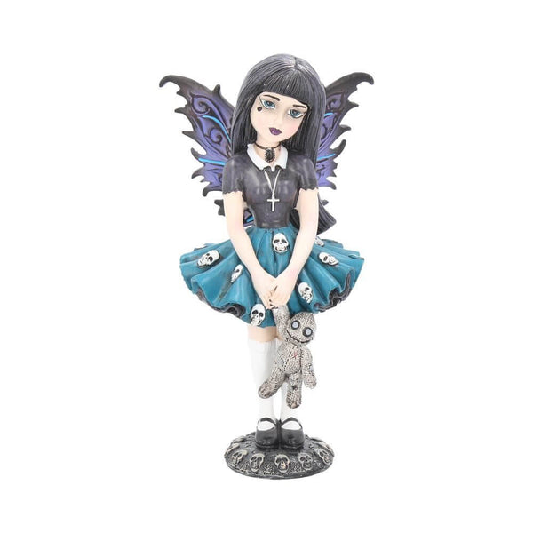 NEMESIS NOW - Little Shadows 'Noire' Gothic Fantasy Fairy Figurine (4622673084494)