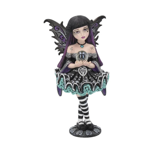 NEMESIS NOW - Little Shadows 'Mystique' Gothic Fairy Figurine (4622639464526)