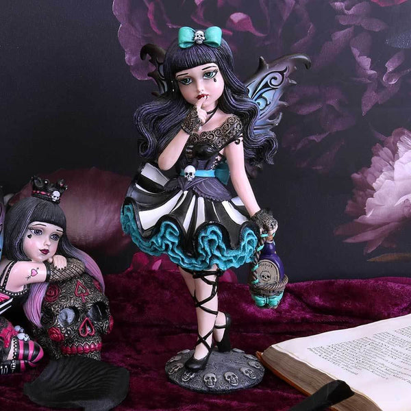 NEMESIS NOW - Little Shadows 'Adeline' Gothic Fairy Figurine (4621469122638)