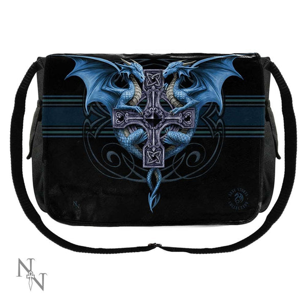 NEMESIS NOW - Dragon Duo Messenger Bag (4577040957518)