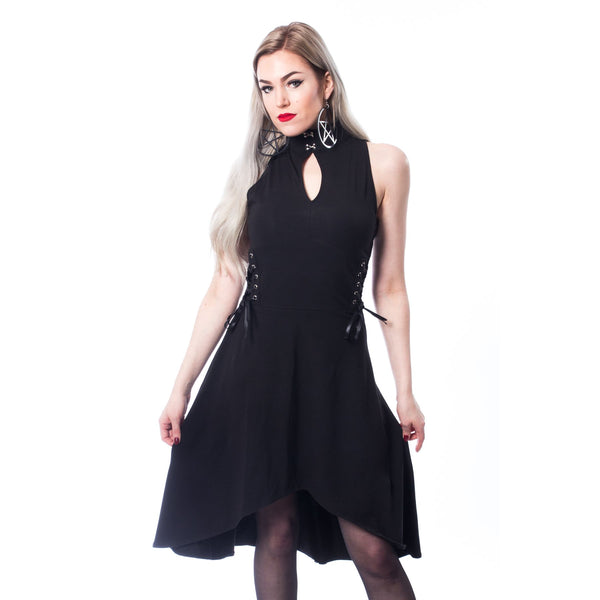 CHEMICAL BLACK - Zhar Dress - The Alternative Shark (4531566346318)