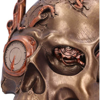 NEMESIS NOW - Pipe Up Steampunk Skull