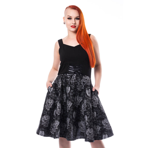 DOCTOR WHO - Fierce Angels Dress - The Alternative Shark (4531544129614)