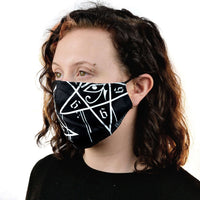 Dripping Pentagram Mask